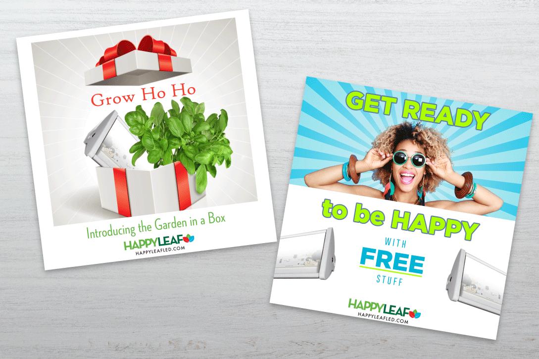 Happy Leaf Promo Cards