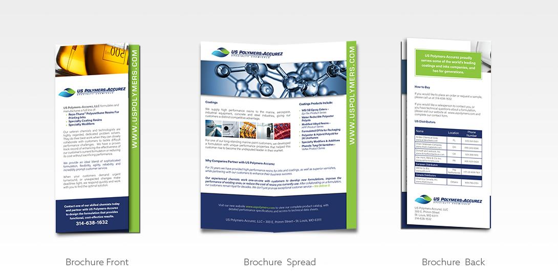 USPA rack brochure sample